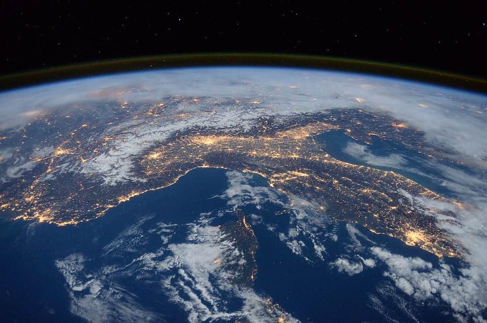 vue sur la Terre